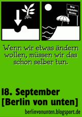 Berlin von unten - Sticker Ändern: Nichts