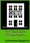 Berlin von unten - Sticker Nachbarn