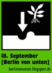 Berlin von unten - Sticker Pflanzen