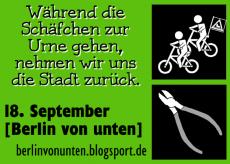 'Berlin von unten!' Aktionstag